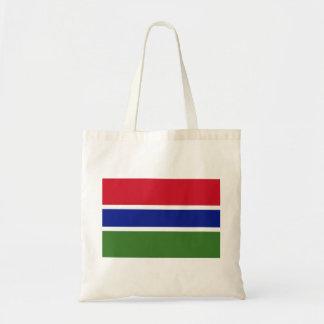 Gambia National World Flag Tote Bag
