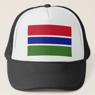Gambia National World Flag Trucker Hat