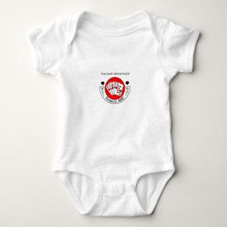Gambler AMU Infant Creeper Grey