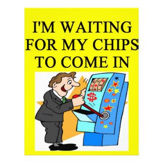 gambler joke full color flyer