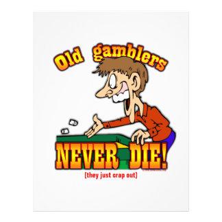 Gamblers 21.5 Cm X 28 Cm Flyer
