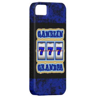 Gamblin Grandpa iPhone 5 Cases