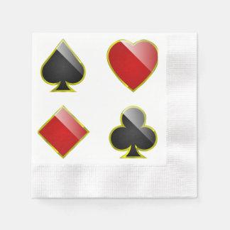 Gambling hall disposable napkin