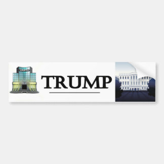 Gambling House to White House Bumper Sticker
