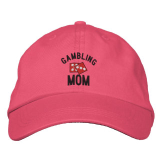 Gambling Mom Embroidered Hat