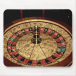 Gambling, roulette mouse pads