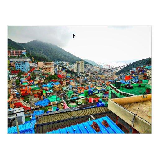 Gamcheon Cultural Village Korea Photo Art