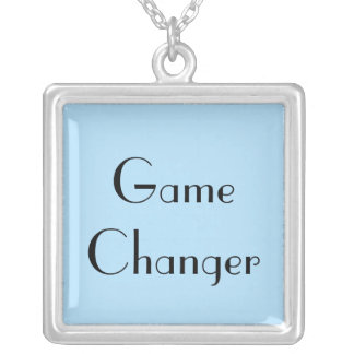 Game Changer Silver Plated Necklace