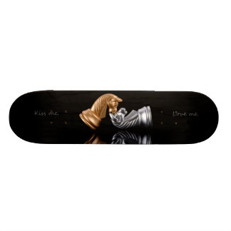 Game Chess Play 20.6 Cm Skateboard Deck