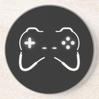 Game Controller Sandstone Coaster
