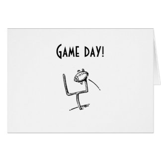GAME DAY - WEDDING WISHES GREETING CARD