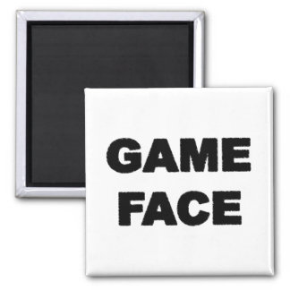 game face magnet