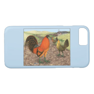 Game Fowl on the Farm iPhone 8/7 Case