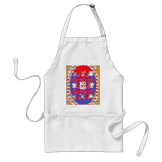 GAME Hearts Colorful Abstract : Excellent Romantic Adult Apron