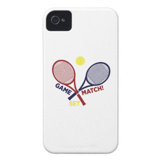 Game Match Set iPhone 4 Case-Mate Cases