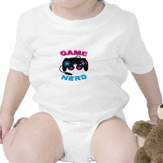 Game Nerd Baby Bodysuits