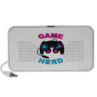 Game Nerd Notebook Speaker