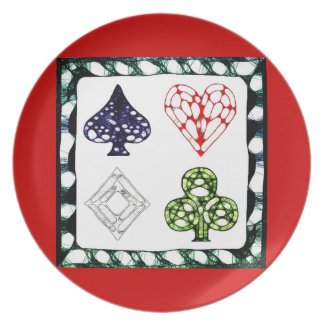 Game Night ~ Red Plate