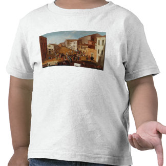 Game of Bowls in the Campo dei Gesuiti, Venice T Shirt