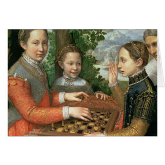 Game of Chess, 1555 Card