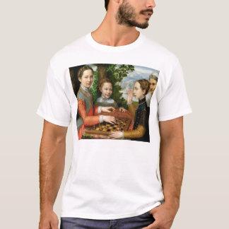 Game of Chess by Sofonisba Anguissola - Circa 1555 T-Shirt