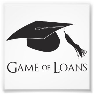 Game of College Graduation Loans Photograph