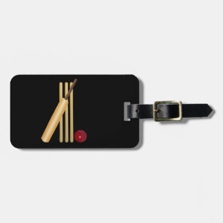 Game of Cricket Tags For Bags
