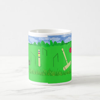 Game of Croquet Coffee Mug