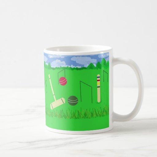 Game of Croquet Mug