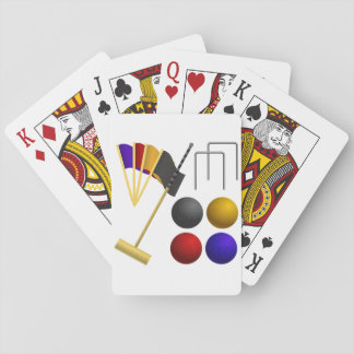 Game Of Croquet Playing Cards