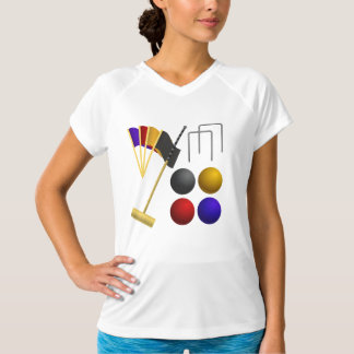 Game Of Croquet Womens Active Tee