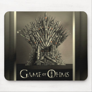 Game of Ohms mousepad