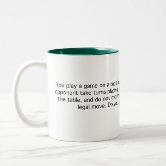 Game of Quarters Two-Tone Mug