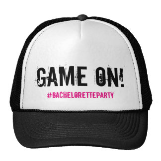 GAME ON BACHELORETTE PARTY - TRUCKER HAT