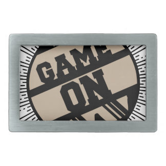 Game on belt buckle