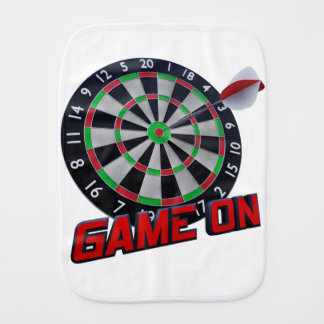 GAME ON BURP CLOTH