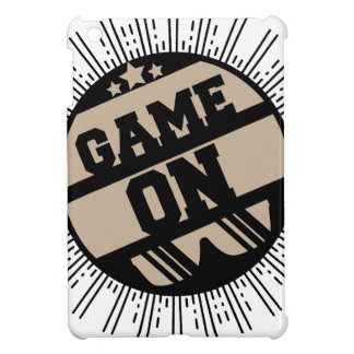 Game on case for the iPad mini
