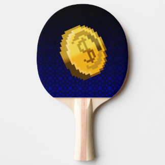 Game On! coin Ping Pong Paddle