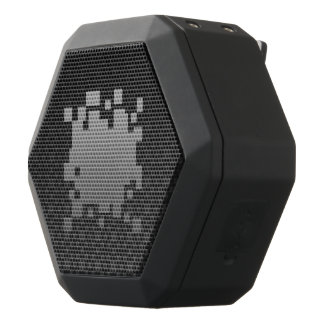 Game On! dark Boombox Black Bluetooth Speaker