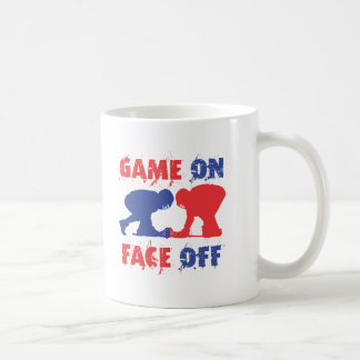 Game On, Face Off Coffee Mug