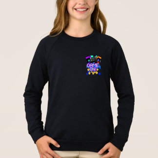 Game On! Girls dark Sweatshirt