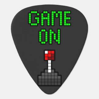 Game On Guitar Pick