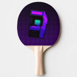 Game On! purple arcade Ping Pong Paddle