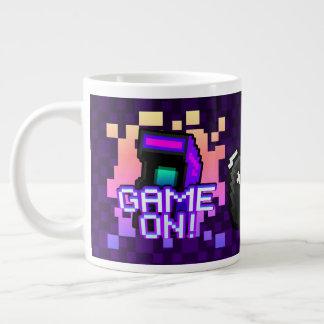 Game On! purple Jumbo Mug
