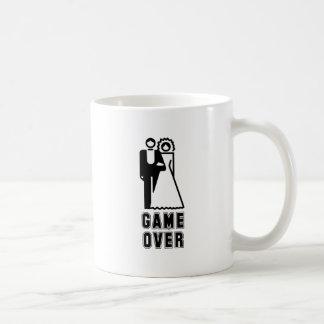 GAME OVER 3 BASIC WHITE MUG