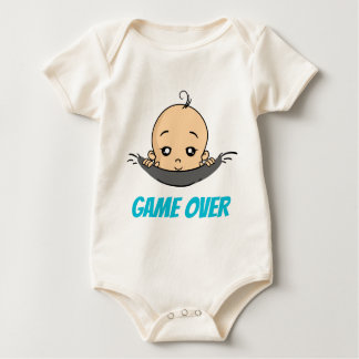 Game Over baby baby pregnancy Baby Bodysuit