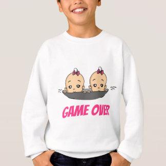 Game Over baby baby pregnancy Sweatshirt