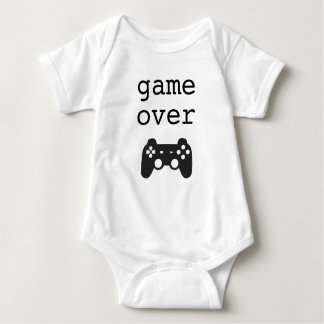 Game Over Baby Bodysuit