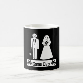 Game Over Basic White Mug