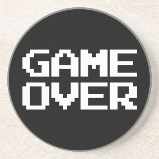 Game Over Beverage Coasters